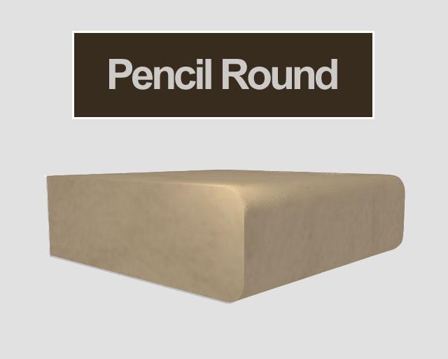 Countertop Edges Pencil : Granite Edge Profiles Mettes Custom Countertops